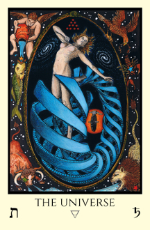 Fortune - Tabula Mundi Tarot color version
